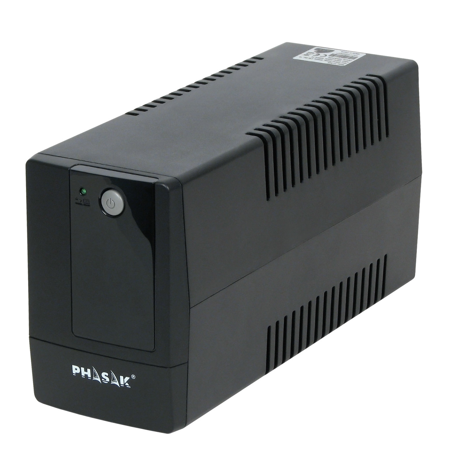 Main image Uninterruptible Power Supply UPS Phasak AK-UP1-400 400VA 240W
