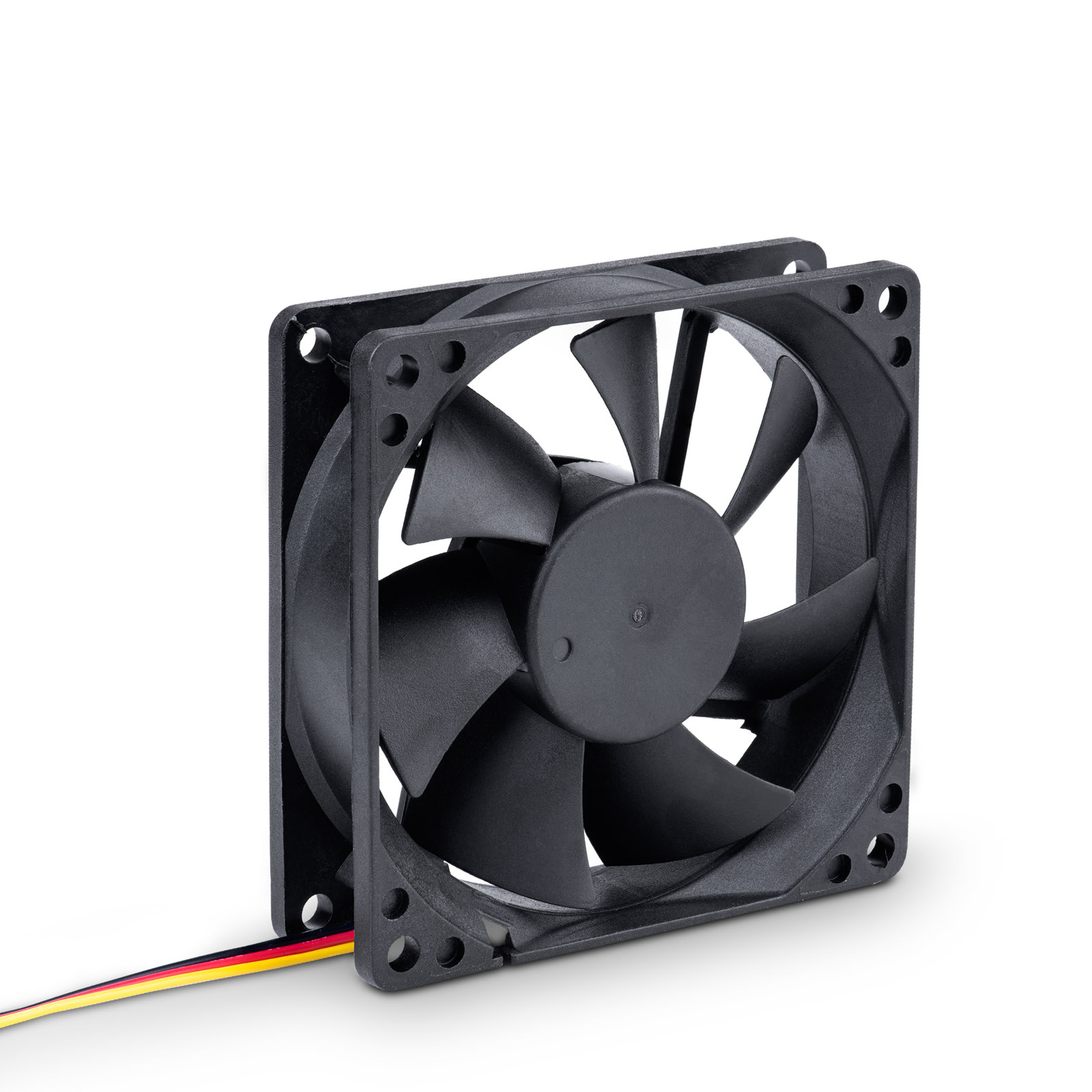 Main image Fan 80mm 3-pin black AW-8B-BK