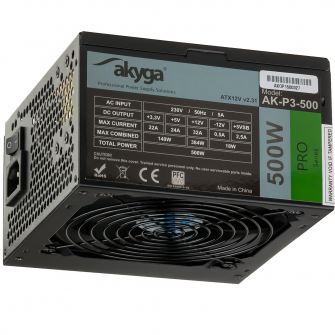 Main image Power Supply ATX AK-P3-500 500W