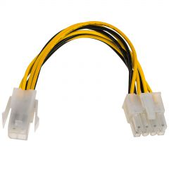 Power cable  P4 4-pin M/P8 8-pin F AK-CA-10