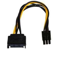 Adapter SATA / PCI-Express 6-pin AK-CA-30