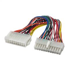 Adapter with cable AK-CA-66 20 pin (m) / P1 24 pin (f) 15cm