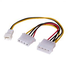 Adapter Molex/Molex/3-pin 12V AK-CA-35