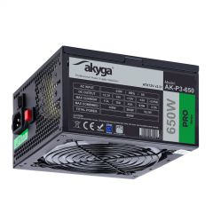 Power Supply ATX AK-P3-650 RGB FAN 650W