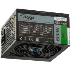 Power Supply ATX AK-P3-600 600W