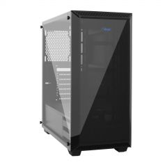 Midi Tower ATX Case AKY015BK Plexi Window