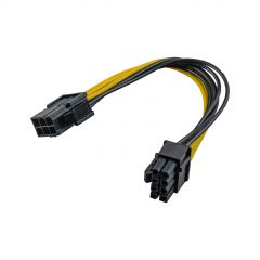 Adapter PCI Express 6-pin M/ 6+2-pin F AK-CA-07